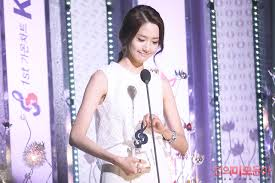 Yoona 1st Gaon Chart Kpop Award Im Yoona Foto 29288963