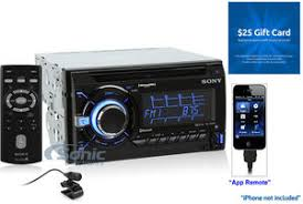 sony wx gt90bt double din bluetooth car stereo w pandora & $25 sony wx-gt90bt no sound product name sony wx gt90bt free $25 sonic electronix gift card