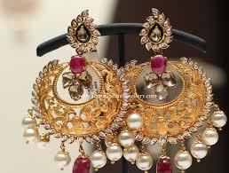 Chandbali Design Fusion Chandbali Design Earrings Jewelry Big Earrings