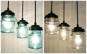 glass jar lights mason jar pendant light chandeliers glass jar lamp bulb