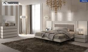 Off White Furniture Bedroom Marina Bedroom Set In Off White Lacquer Free Shipping Get