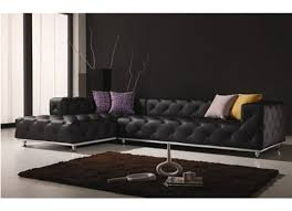black modern living room furniture. contemporary italian off white leather living room set black tufted sectional sofa modern furniture