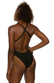 Tanya Fixed Back Onesie Black
