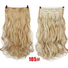 <b>SHANGKE 28</b>'' <b>Long</b> Synthetic Hair Clip In Hair Extension Heat ...