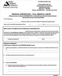 13 Sample Medical Certificate For School Sample Templates