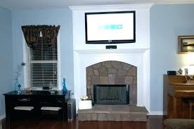 mounting on brick hang wall full size of mount flat screen tv over fireplace mounted above