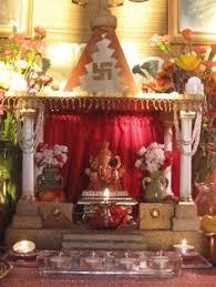 ganpati decoration makhar ganapati deity decoration