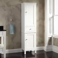 Furniture Linen Storage Cabinet Bathroom Storage Tower