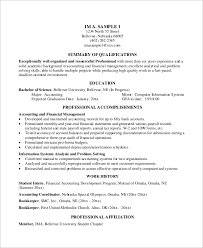 Basic Skills For A Resume Basic Resume Example 8 Samples In Word Pdf