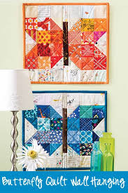 erfly wall hanging quilt sewing
