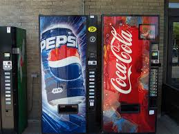 Pepsi Cola Vending Machines