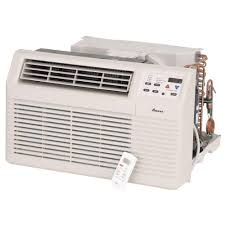 amana 9 300 btu 230 volt 208 volt through the wall air conditioner and heat pump with 3 5 kw electric heat and remote pbh093g35cc the home depot