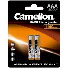 Купить <b>Аккумулятор Camelion AAA</b> 1100mAh Ni-Mh BL-2 в ...