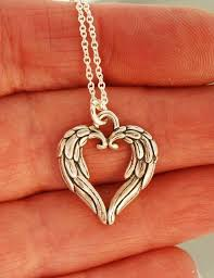 angel wing heart necklace wings with zircon jane seymour open angel wing heart necklace 0 item pic original thomas sabo pendant