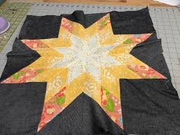 The Bees Knees - A Quilting Bee & Lone Star is fun block to put together and I can't wait to see the quilt  come together! I love how you chose your fabrics for the block! Adamdwight.com