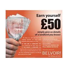 Incentive Flyer Estate Agent Marketing Tools Referral Promotions Leaflets