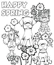 Free Preschool Spring Coloring Pages Coloring Pages Spring
