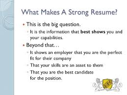 Resume Writing Workshop The Basics Made Easy Southern States
