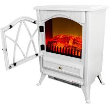 akdy fp0004 16 1500w heat adjule freestanding electric fireplace heater stove white com