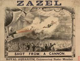 Zazel, the Human Cannonball (Rosa Richter) – (Travalanche)