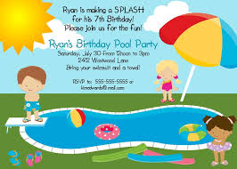 pool party invitations info birthday pool party invitations theruntime com