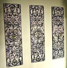 distressed white wall decor white metal wall decor black iron wall decor wrought iron candle wall