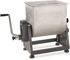 Guide <b>Gear</b> 7 Gallon Stainless Steel <b>Meat Mixer</b> with Tilt: Amazon.ca ...