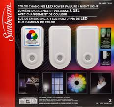 Non Plug In Night Light Ivation Sleek 3 In 1 Emergency Black Out Motion Sensing