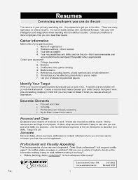 My First Resume Template Stunning How To Write Up A Resume Photo Resume Unique My First Resume