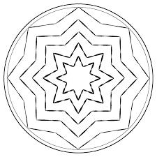 Coloriage Mandala Noel Etoile Dessin A Imprimer Dessincoloriage