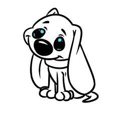 Mooie dieren kleurplaten kerst 2018. Rechtenvrije Foto S Van Kleurplaat Hond Afbeeldingen Kleurplaat Hond Depositphotos