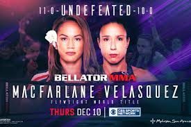 All results ufc pfl invicta fc one fc fight results. Bellator 254 Results Live Streaming Play By Play Updates Macfarlane Vs Velasquez Mmamania Com