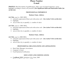 Resume Writing Skills List Resume Template