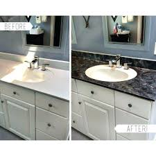 how to paint bathroom countertops to look like granite how to paint bathroom to look like