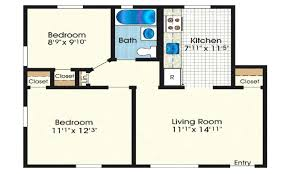 small two bedroom house plans under 500 sq ft best sq ft house plans inspirational square
