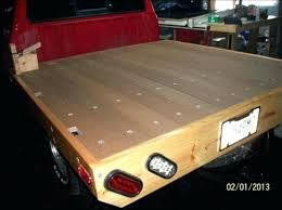 wooden truck bed wooden truck bed enlarge this this image to see how to make