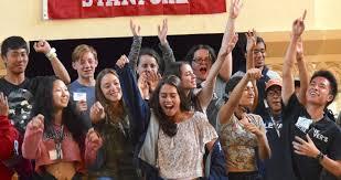Free teens leadership training stage