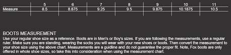 13 Memorable Fox Racing Youth Jersey Size Chart