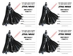 star wars birthday invite template star wars birthday invitations printable free pinteres