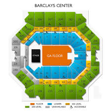Barclays Arena Seating Chart The Strokes Barclays Center Tickets For 12 31 19 Brooklyn Ny