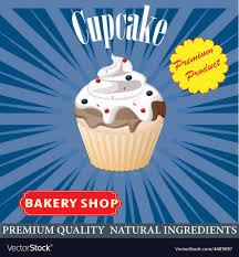 Cupcake Poster Design Cupcake Poster Design