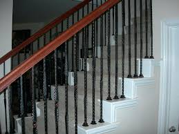 Full Image for Replace Banister Spindles Best Stairways Images On Stairs  Banisters And Wrought Iron Baluster ...
