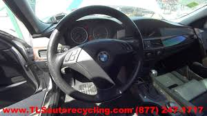 BMW Convertible 545i 2004 bmw : Parting Out 2004 BMW 530i - Stock - 6167BK - TLS Auto Recycling