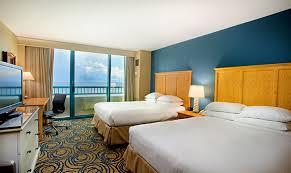Hilton Daytona Beach Oceanfront Resort Oceanfront Room   1 King Bed Or 2  Queen Beds