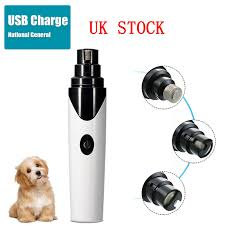 dels about uk usb electric dog pet nail grinder paws grooming trimmer cat clipper file tool