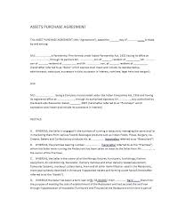 Business Purchase Agreement Form Business Purchase Agreement ...