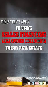 Using Seller To aka The Owner Guide Financing Ultimate Zw4SAqz