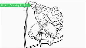 watch easy super hero squad hulk coloring pages