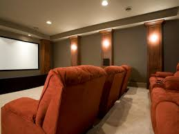 viewing contemporary home theater