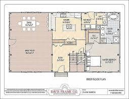 monitor barn house plans timber frame barn 1b plan 1 floor plans